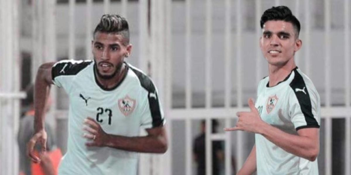 صورة الزمالك يفقد نجمه المغربي في نصف نهائي كأس مصر