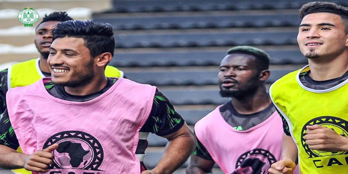 صورة الرجاء يُجري حصته التدريبية الأخيرة قبل مواجهة مازيمبي