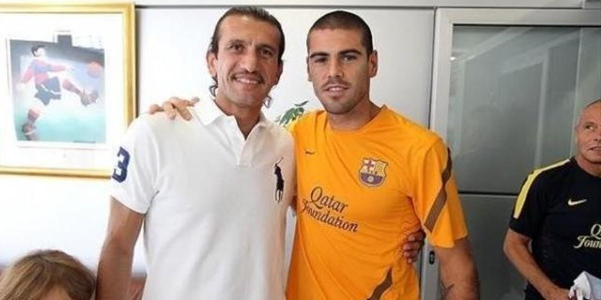 """صورة حارس برشلونة السابق في حالة حرجة بسبب """"كورونا"""""""