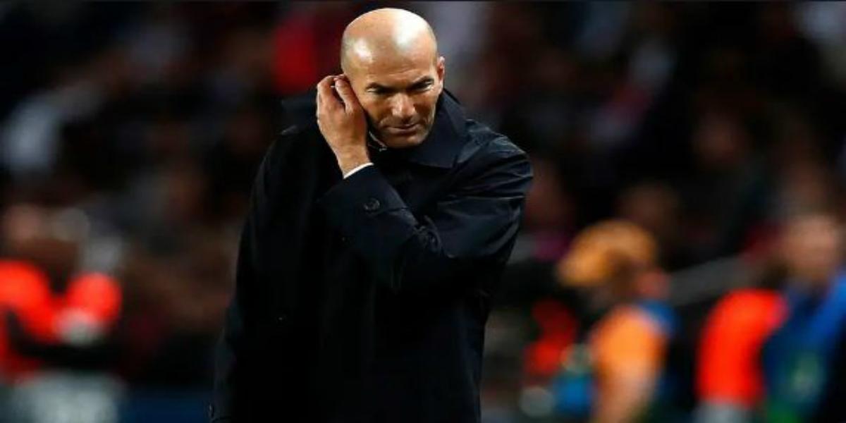 صورة زيدان يتلقى صفعة قوية قبل مواجهة ريال بيتيس