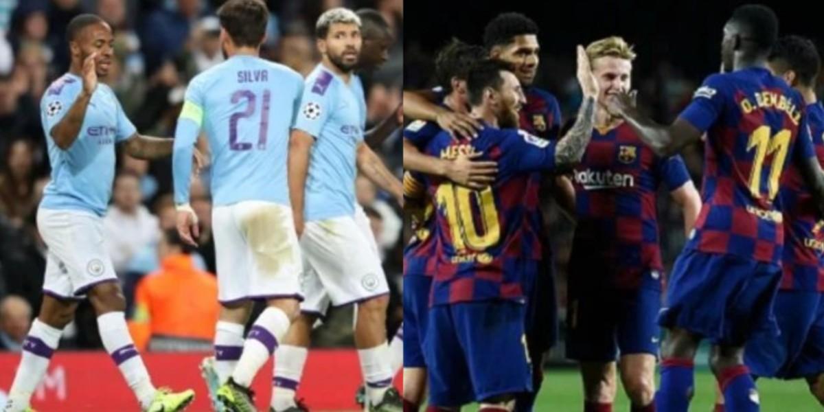 صورة برشلونة يتجه لإبرام صفقة تبادلية مع مانشستر سيتي