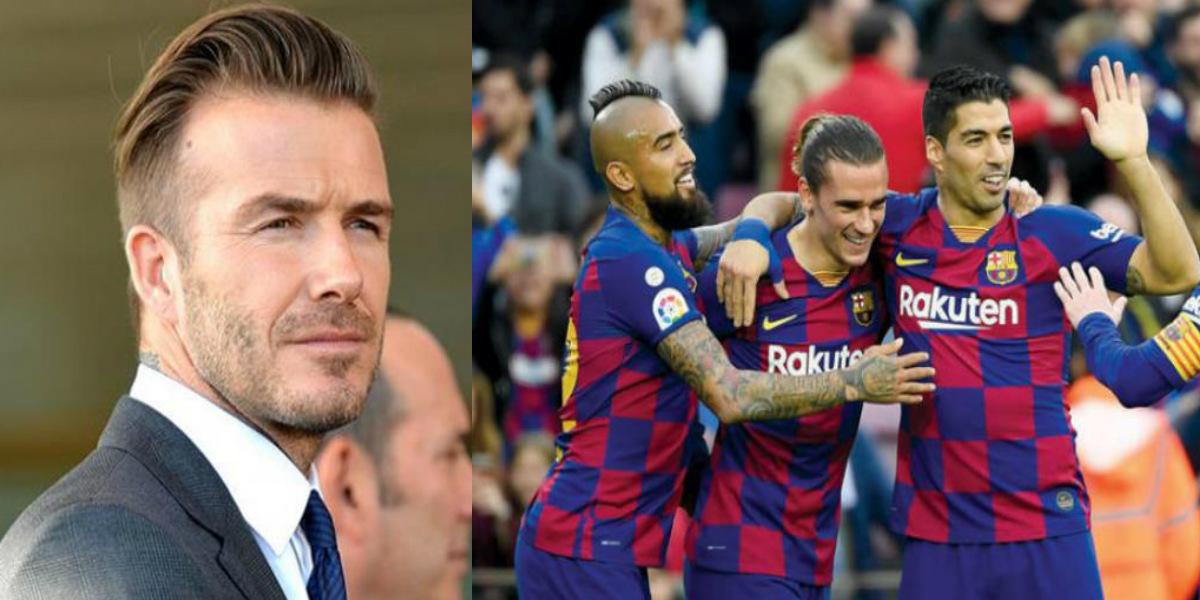 صورة بيكهام يرغب في جلب نجم برشلونة لفريقه الأمريكي
