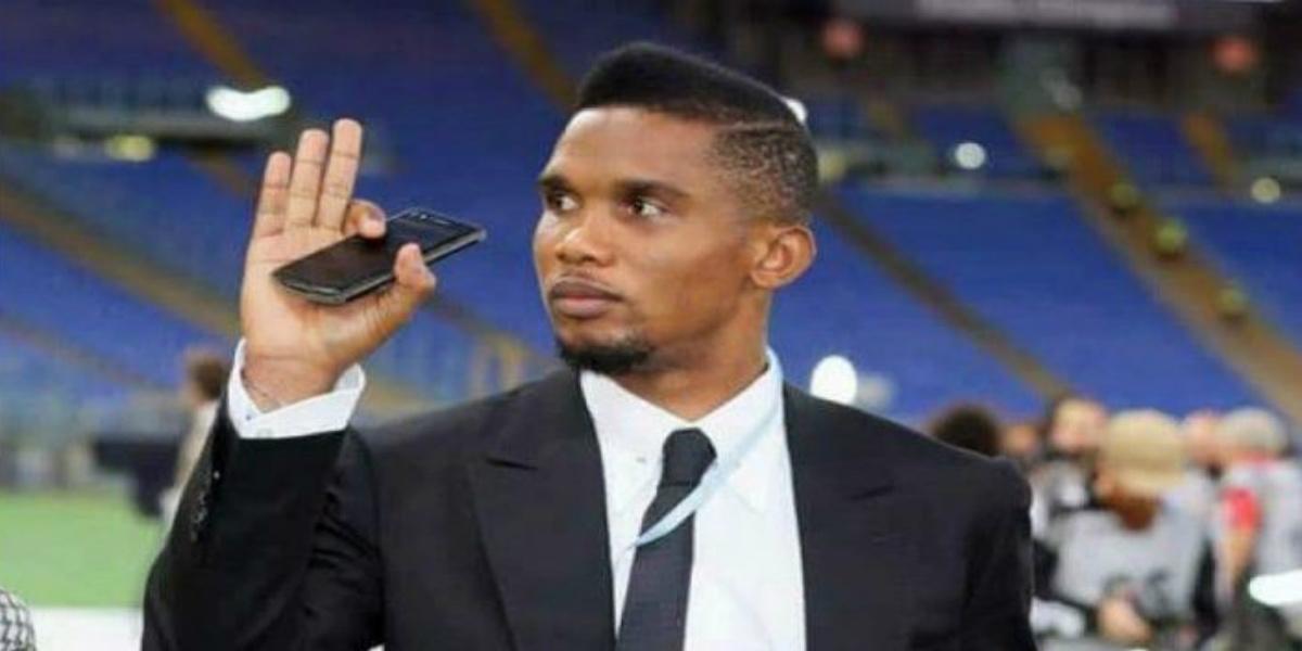 """صورة بعد اقتراحهم اختبار لقاحات """"كورونا"""" على الأفارقة.. إيتو يستشيط غضبا من عنصرية الفرنسيين"""