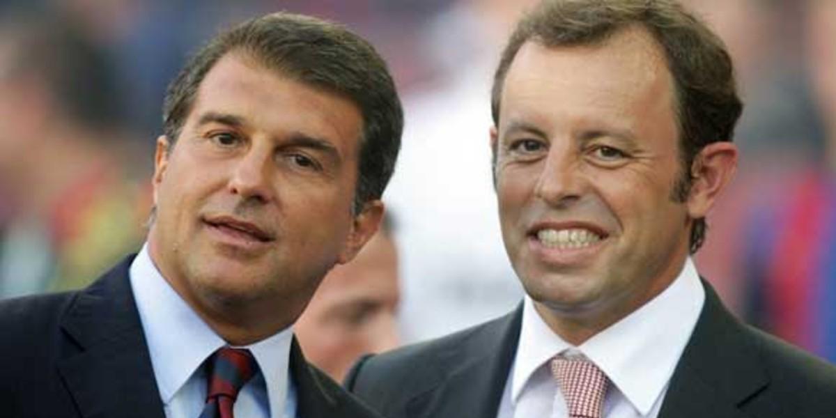 """صورة رئيس برشلونة السابق: """"لو كنت في الإدارة لأعدت نيمار"""""""