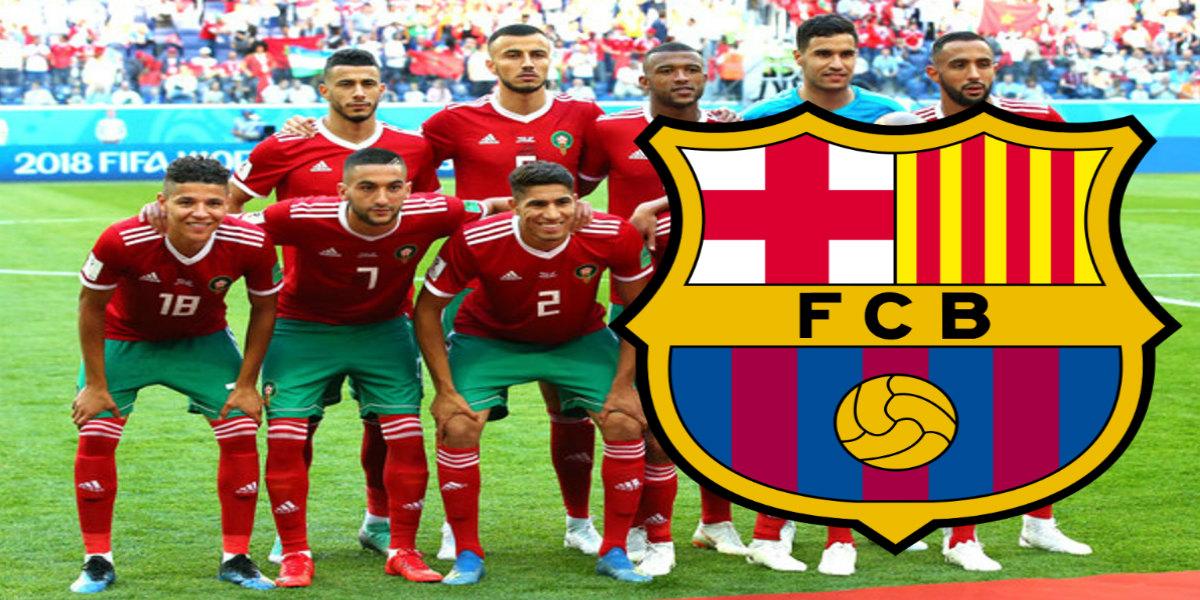 صورة برشلونة يضع نجم المنتخب الوطني في قائمة اهتماماته