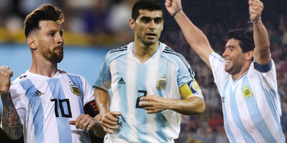 """صورة قائد منتخب الأرجنتين السابق: """"مارادونا موهوب وميسي مثل الفأر"""""""