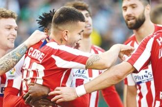أتلتيكو مدريد يعلن إصابة نجمه في التدريبات