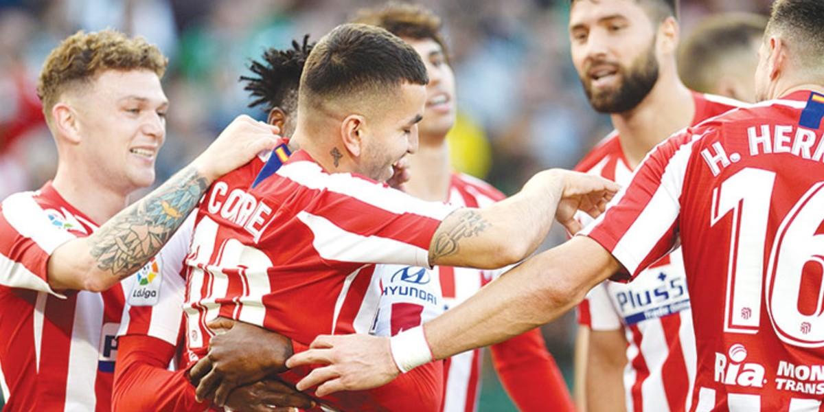 صورة أتلتيكو مدريد يعلن إصابة نجمه في التدريبات
