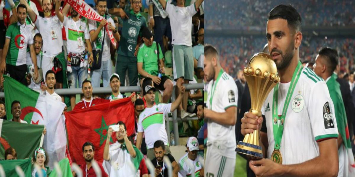 """صورة رياض محرز عن الفوز بأمم إفريقيا: """"هذا التتويج لنا وليس للمغاربة.. وقد انزعجوا من فوزنا"""""""