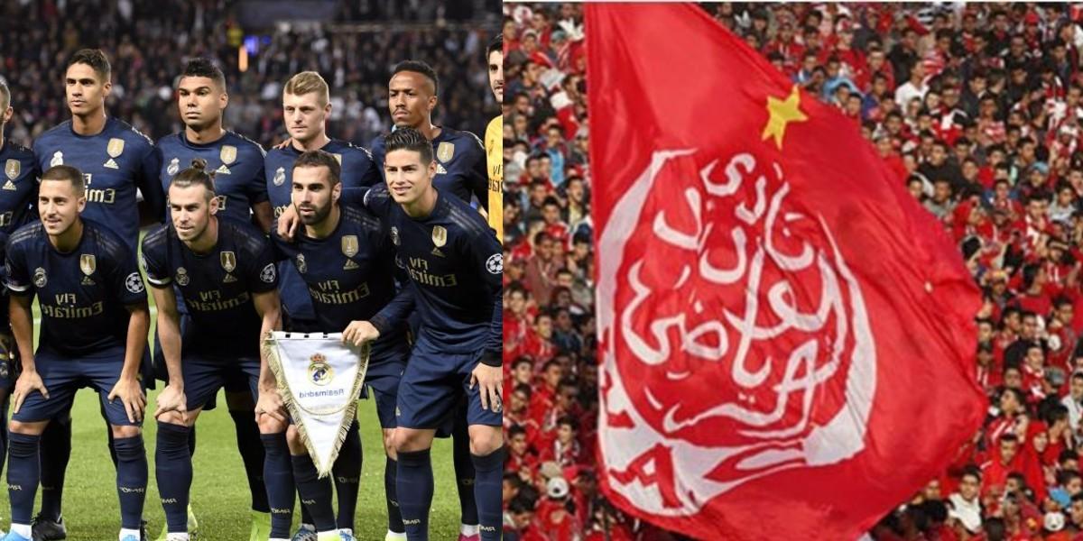 صورة نجم ريال مدريد يهنئ الوداد بذكرى تأسيسه الـ83