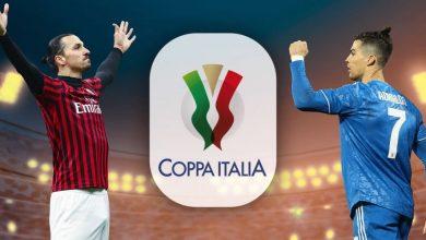 صورة الموعد والقنوات الناقلة لقمة يوفنتوس وميلان في كأس إيطاليا