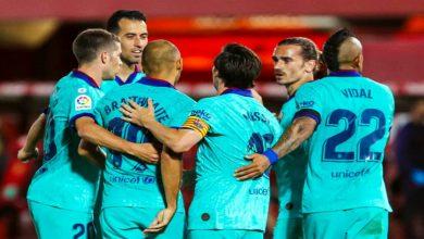 صورة برشلونة يعلن غياب  مهاجمه عن الفريق بسبب الإصابة