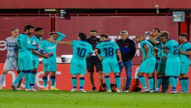 صورة ناد إنجليزي يمهد لصفقة تبادلية من أجل التعاقد مع نجم برشلونة