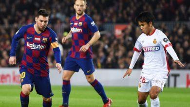 صورة الموعد والقناة الناقلة لمباراة برشلونة وريال مايوركا