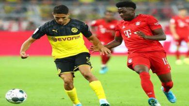 صورة حكيمي يخسر لقب الأسرع في الدوري الألماني لصالح ديفيز