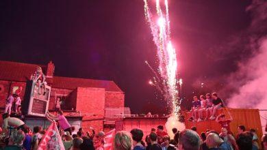 صورة حريق يفسد احتفالات ليفربول بالتتويج