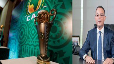 """صورة لقجع يعد ممثلي الكرة المغربية في """"إفريقيا"""" بتسهيل مهامهم"""