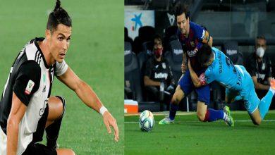 صورة بعد عودة كرة القدم.. ميسي يضع رونالدو في موقف محرج