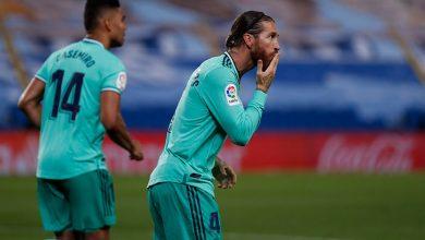 صورة راموس يتصدر قائمة ريال مدريد لمواجهة برشلونة