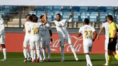 صورة ريال مدريد يستأنف الليغا بثلاثية في مرمى إيبار