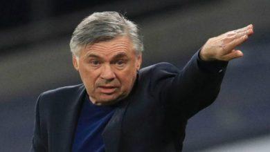 صورة أنشيلوتي: إيفرتون يحتاج لانتصارات على أرضه للتأهل لأوروبا