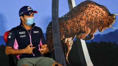 Photo of بيريز يغيب عن سباق جائزة بريطانيا الكبرى بعد إصابته بكورونا