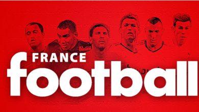 """صورة مجلة """"فرانس فوتبول"""" تصدم عشاق كرة القدم"""