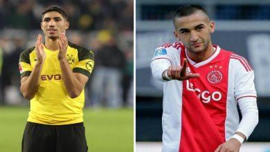 صورة صفقة حكيمي وزياش في قائمة أغلى انتقالات اللاعبين الأفارقة بأوروبا