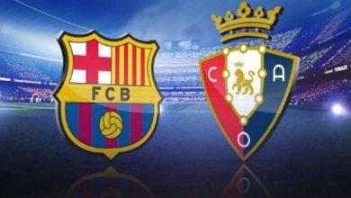 Photo of ملخص مباراة برشلونة وأوساسونا