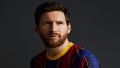 صورة رسميا.. الكشف عن قميص برشلونة الأول في الموسم القادم-صور