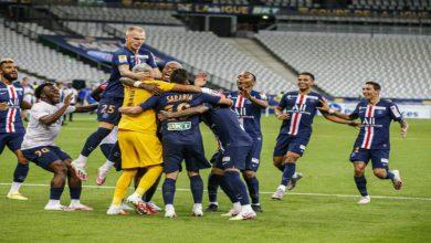 Photo of باريس سان جيرمان ينتصر بركلات الترجيح على ليون ويحقق لقب كأس الرابطة الفرنسية
