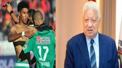 """صورة مرتضى منصور: """"أحداد يمتلك عرضا مميزا من الدوري المغربي"""""""