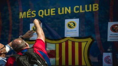 صورة انطلاق عملية جمع توقيعات سحب الثقة من رئيس برشلونة