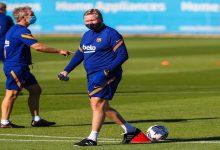 صورة كومان يحسم مستقبله مع برشلونة