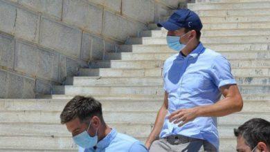 صورة الإفراج عن مجواير قائد يونايتد بعد مشاجرة في اليونان