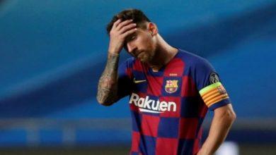 """صورة بعد قرار الامتناع عن فحوصات """"كورونا"""".. برشلونة يستعد لإرسال """"فاكس"""" لميسي"""