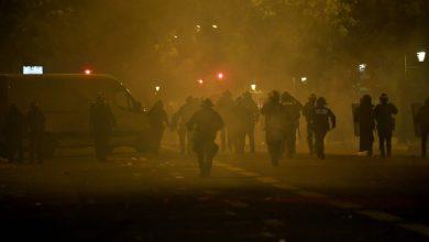 صورة أعمال شغب كبيرة في باريس بعد نهائي أبطال أوروبا -فيديو