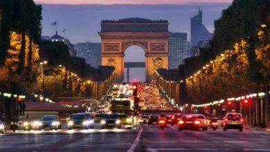 """صورة أبطال أوروبا.. شارع """"الشانزيليزيه"""" يخصص لجماهير باريس سان جيرمان مع إجبارية ارتداء الكمامات"""