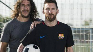 صورة بعد مطالبته بالرحيل عن برشلونة.. بويول يساند ميسي