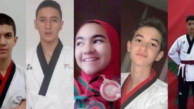 صورة المنتخب المغربي المدرسي يحرز خمس ميداليات في بطولة العالم للتيكواندو