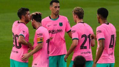 صورة برشلونة يمدد عقد أربعة من نجومه