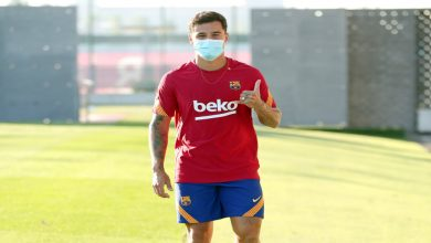 صورة كومان يحدد المركز الجديد لكوتينيو مع برشلونة واللاعب يلتحق بالتدريبات