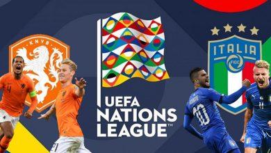 صورة ملخص لقاء إيطاليا وهولندا
