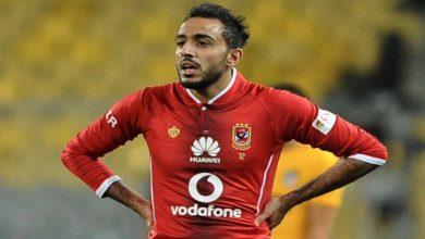 صورة الأهلي المصري يغرم لاعبه بسبب سوء السلوك