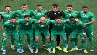 صورة تشكيلة الأسود الرسمية أمام منتخب السنغال
