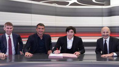 صورة رسميا.. ميلان يُعلن تعاقده مع ساندرو تونالي