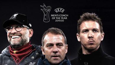 صورة ثلاثي ألماني مرشح لجائزة أفضل مدرب في أوروبا