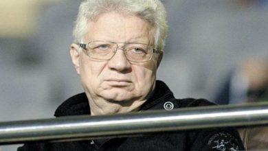 """صورة مرتضى منصور: """"أكدت للاعبين بأن انتصارهم في الذهاب سيقودهم إلى نهائي الأبطال"""""""