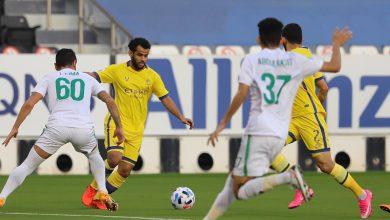صورة حمد الله يعبر إلى نصف نهائي دوري أبطال آسيا رفقة النصر -فيديو