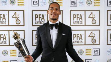 صورة الكشف عن المرشحين لجائزة أفضل لاعب من رابطة اللاعبين المحترفين الإنجليزية